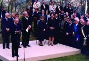 Presidenti Rau e Ciampi a Monte Sole 2002