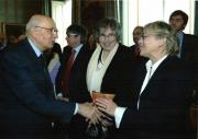 La Scuola di Pace dal Presidente Napolitano 2008